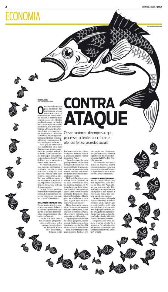 O Dia - Contra Ataque - Página Premiada pelo SND
