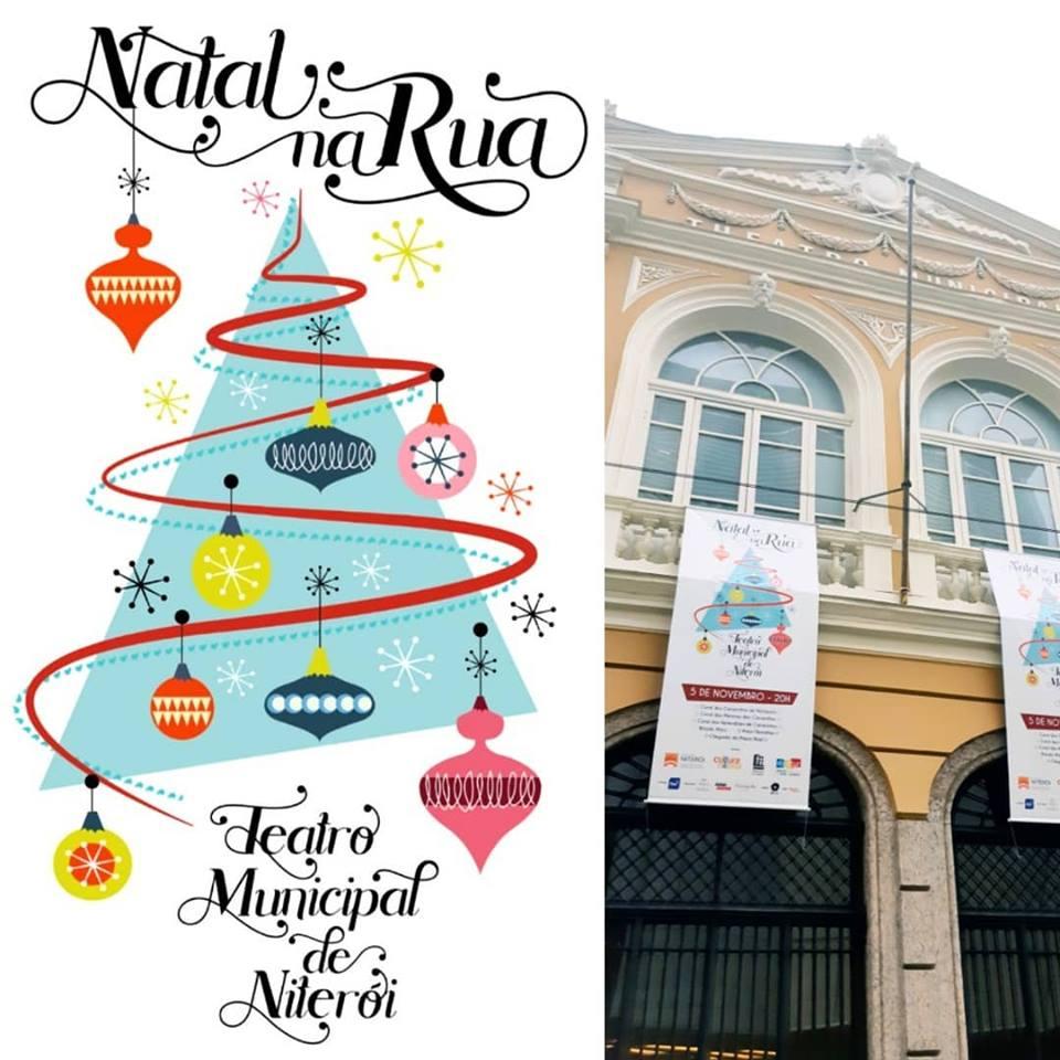 Arte para o Teatro Municipal de Niterói