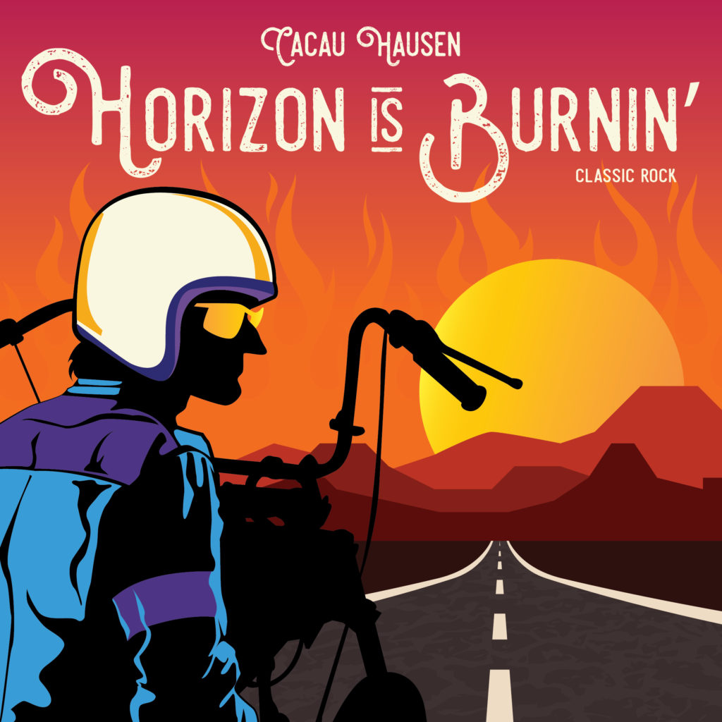 Capa de Single Horizon is Burnin'