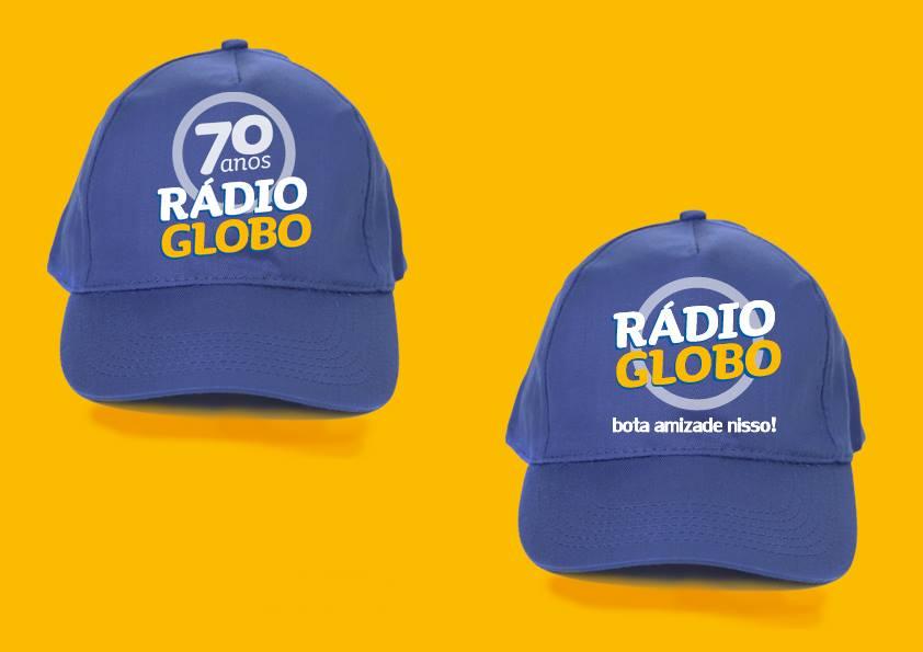 Bone para Rádio Globo