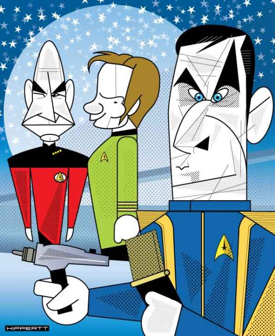 Capitães Star Trek
