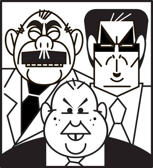 Sarney, Jader Barbalho e ACM