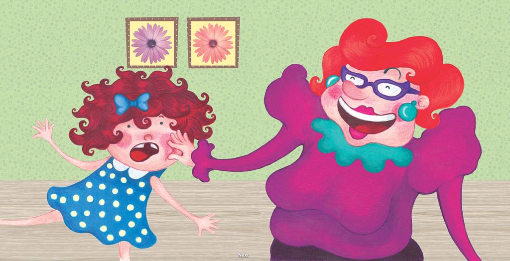 """Ilustração para o livro """"Minha boca está pelada"""""""