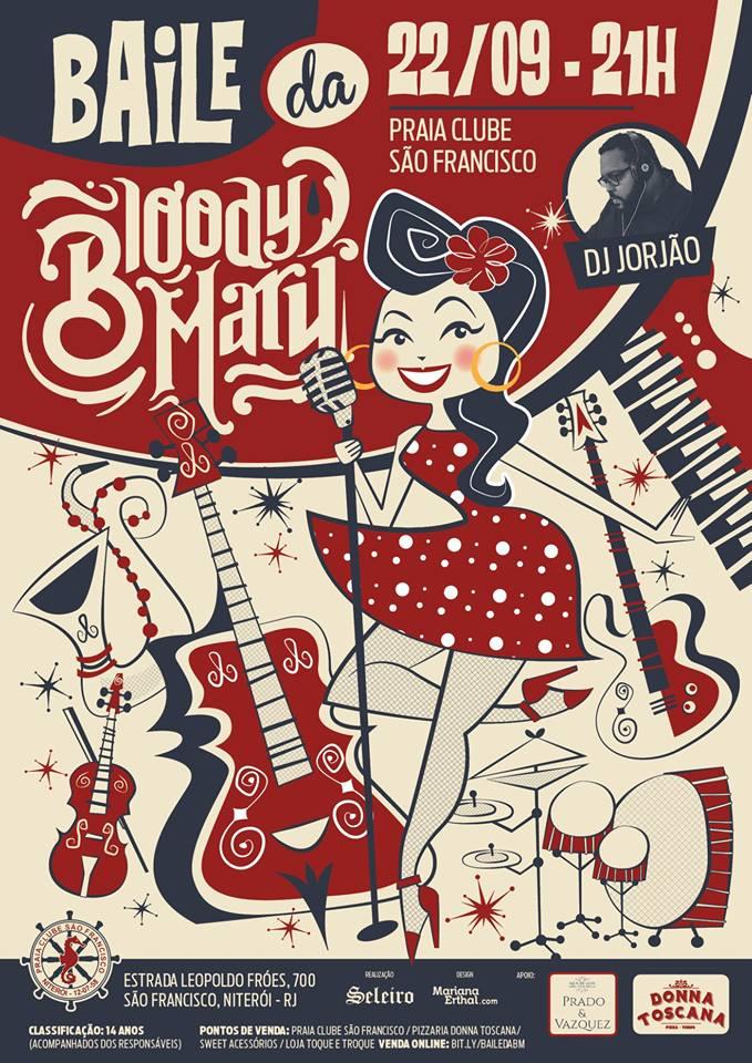 Arte para a banda Bloody Mary