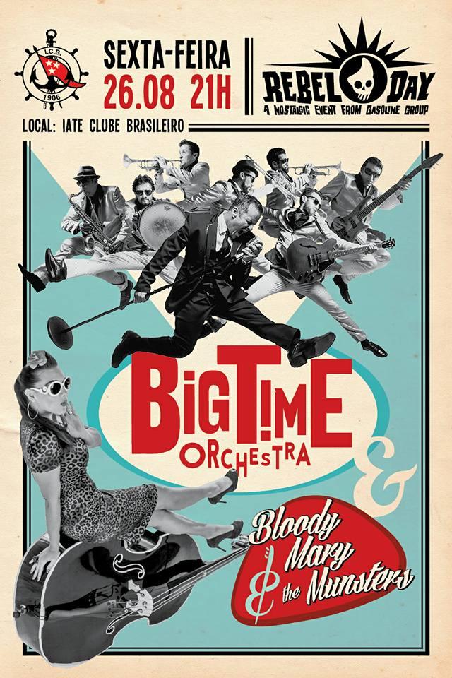 Arte para a banda Bloody Mary e Big Time Orchestra