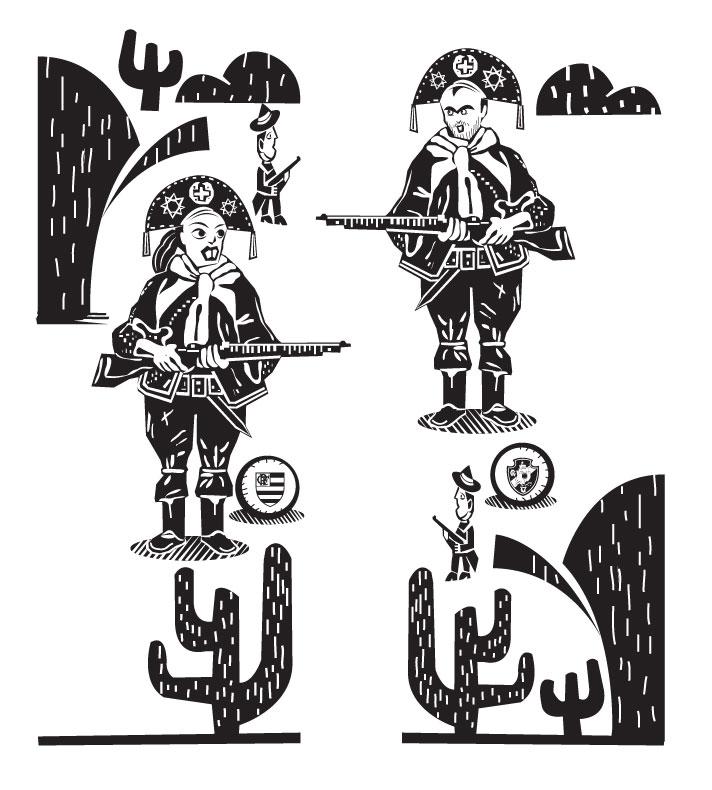 Ilustração Editorial para o Jornal O DIA