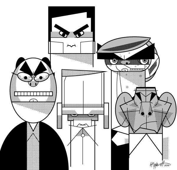 Os cinco cavaleiros do apocalipse