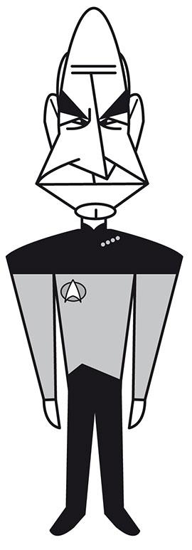 Patrick Stewart em Star Trek